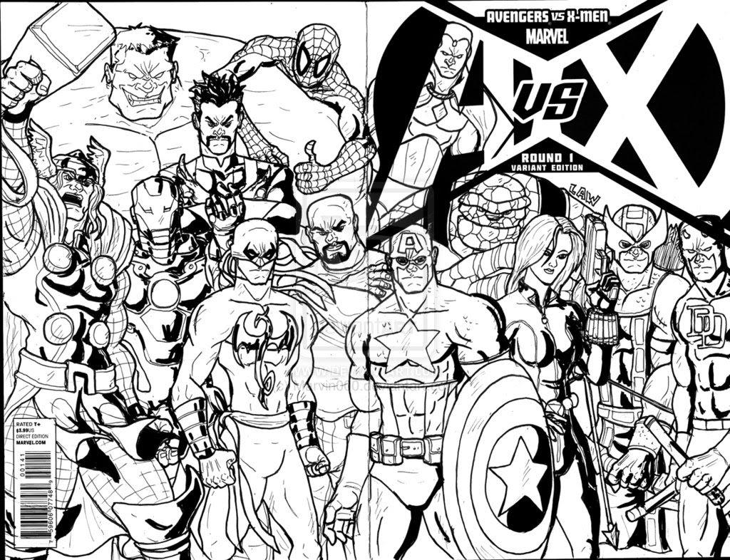 Coloriages à Imprimer Avengers Numéro 405274