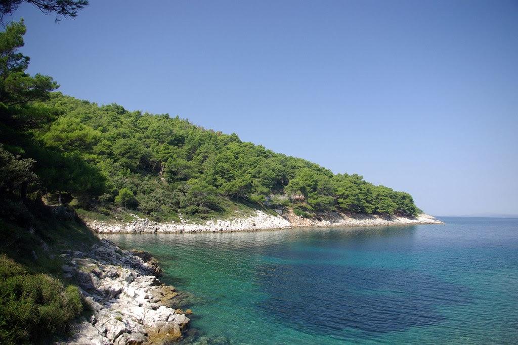 Lošinj coastline