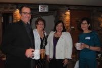 Linora Gula, Richard Reinhardt, Barbara Hobel Smith present at Morgan's Event