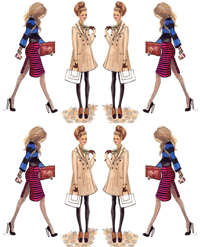 Fashion Outfits, Style Inspiration, Prada, Burberry, Celine, Stella McCartney, Fall Dressing, Fashion Collage