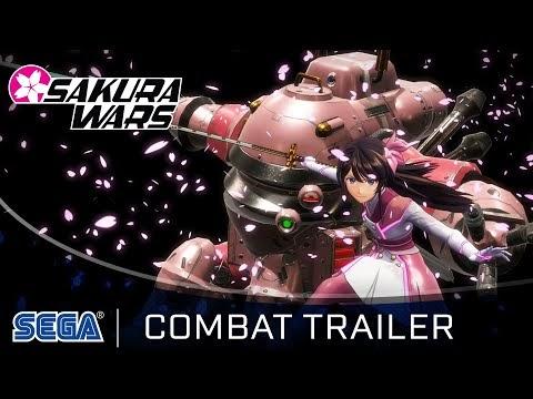 Trailer de combate de Sakura Wars
