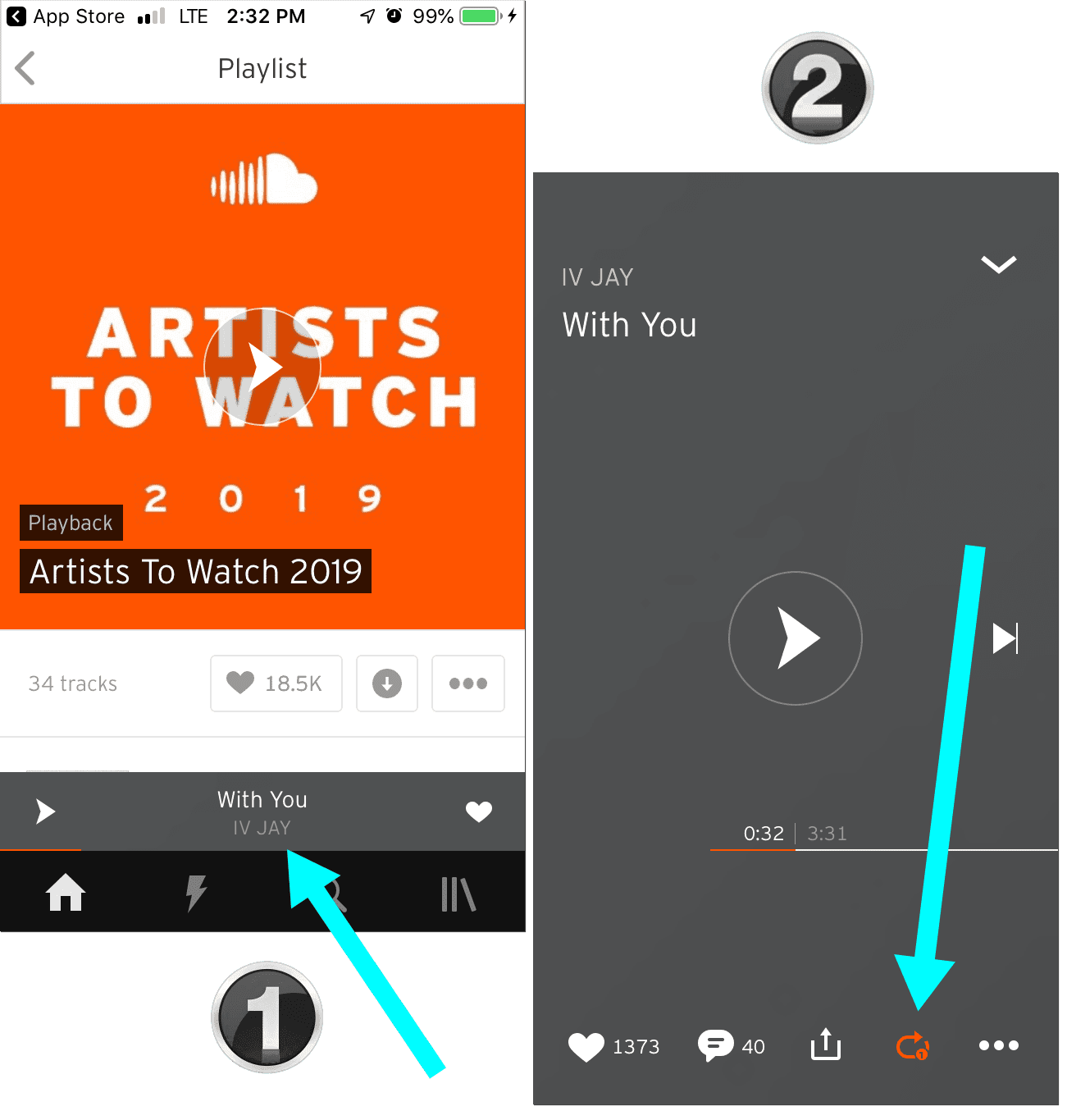 How to Loop Soundcloud Songs - How To Now