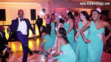 Epic Wedding Dance with Amazing Bridal Party. Best