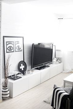Tv Storage on Pinterest