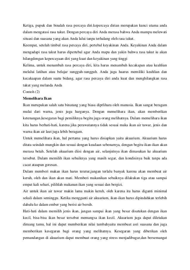 Paragraf Deskripsi Eksposisi Narasi Argumentasi Dan Persuasi