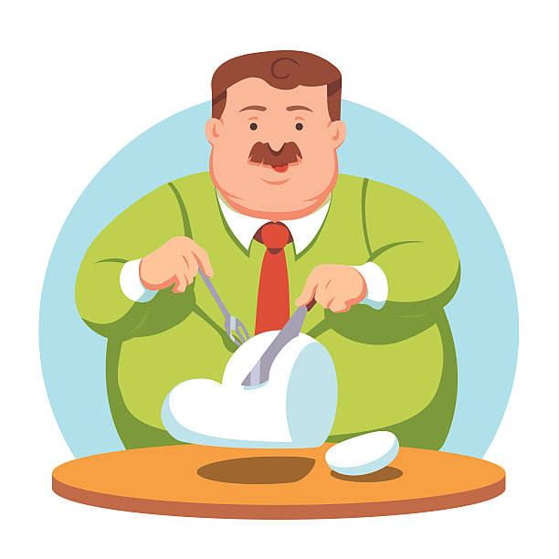 Image result for obese people clipart