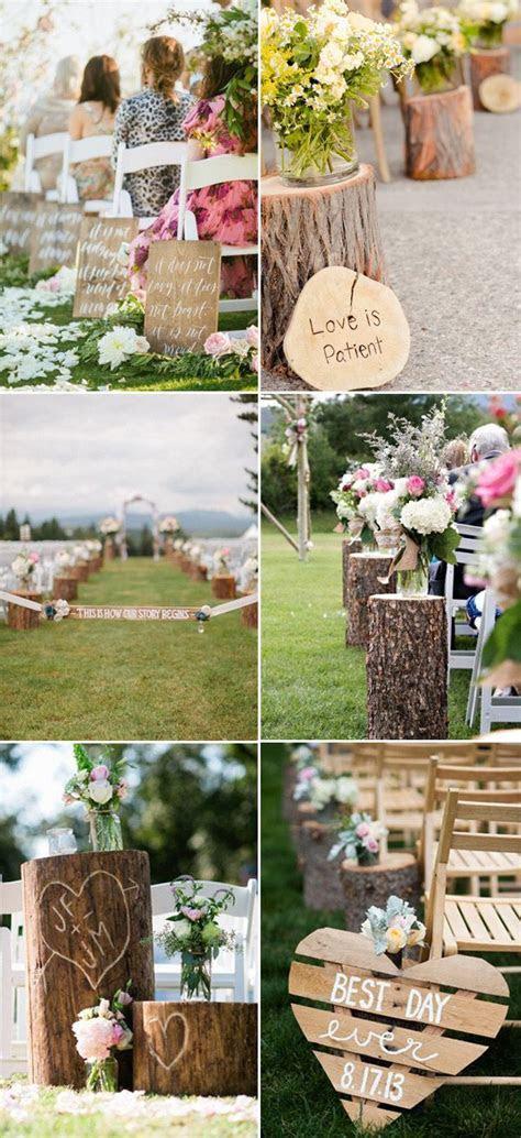 25  best ideas about Wedding aisles on Pinterest   Outdoor