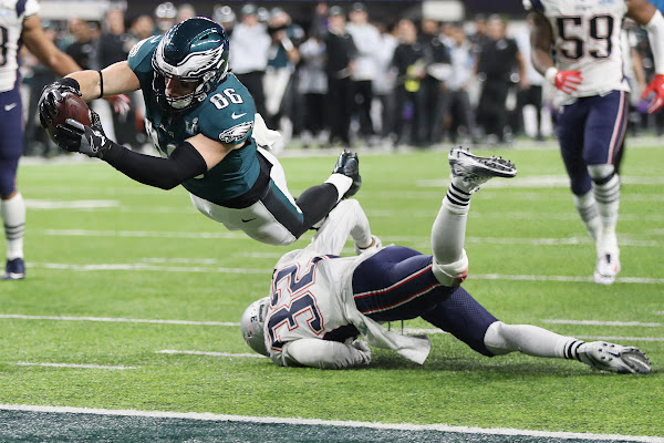 3f3f41691be Eagles' 2019 schedule: Super Bowl rematch with Patriots on Nov. 17
