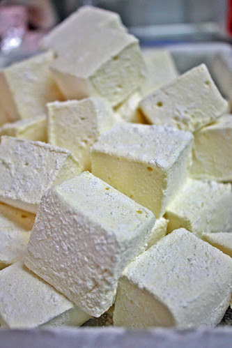 Passionfruit marshmallows by Louisa Morris Cakes