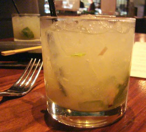 Lemongrass-Lychee Mojito