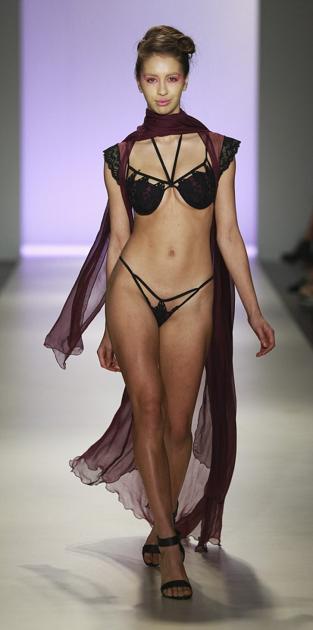 Wee bit unique! Day four of NZ fashion week has concluded with ConfiTEX, an incontinence lingerie brand