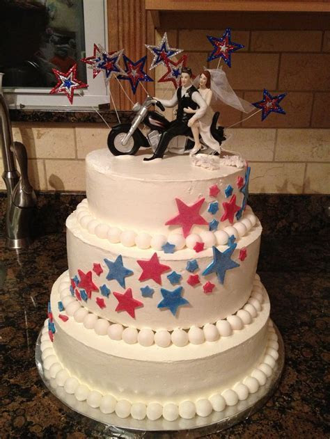 4th of july wedding cakes   idea in 2017   Bella wedding
