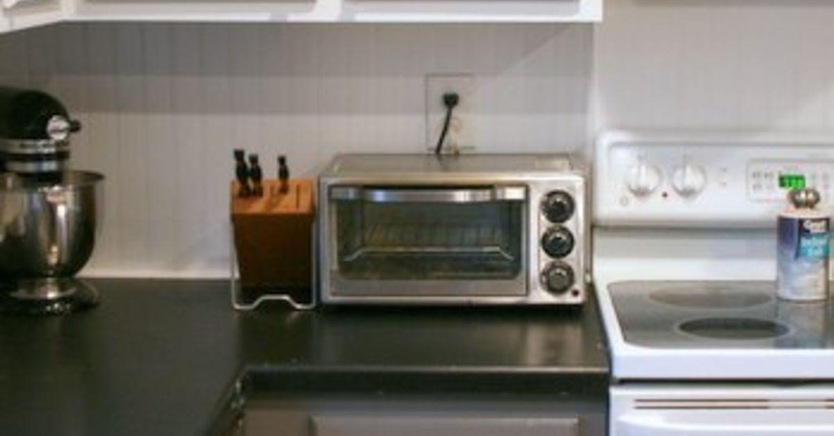 Tuxedo Kitchen + Spray Painted Cabinet Makeover | Hometalk