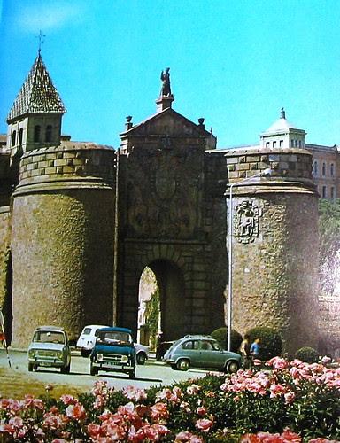 Puerta de Bisagra, Toledo (años 60 del siglo XX)