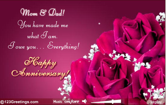 Mom Dad Happy Anniversary Pictures Photos And Images For
