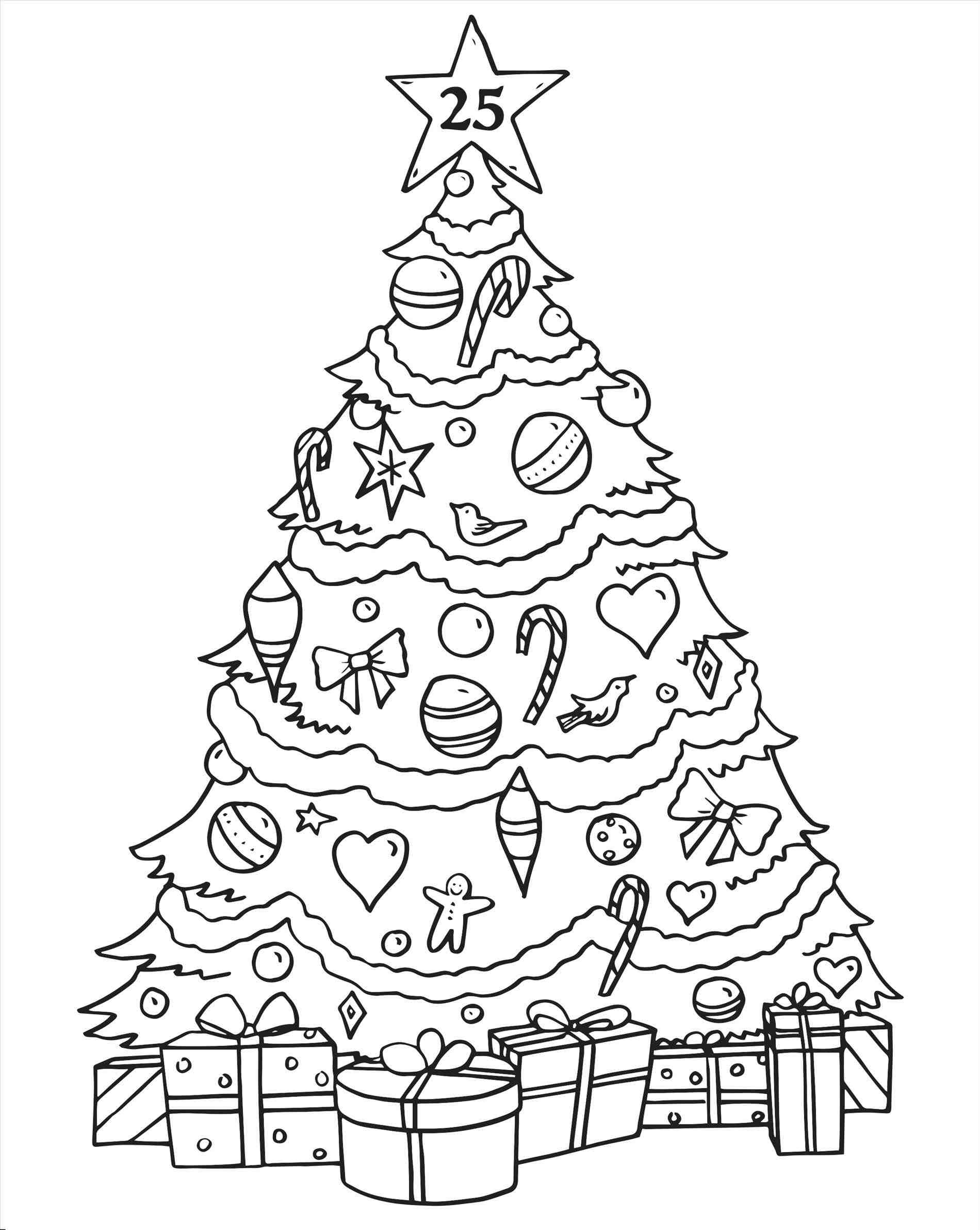 Christmas Tree Drawing For Kids at GetDrawings   Free download