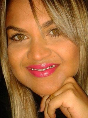 Franklene Gomes prestou queixa na Polícia Civil (Foto: Arquivo Pessoal)