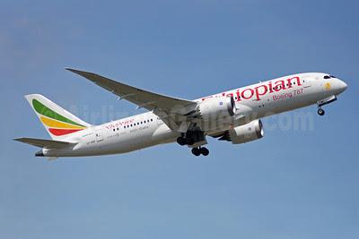 Ethiopian Airlines Boeing 787-8 Dreamliner ET-AOR (msn 34746) YYZ (TMK Photography). Image: 912557.