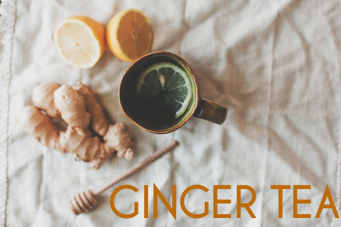 GINGER TEA // The Little Red House