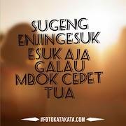 53 Gambar Lucu Ucapan Selamat Pagi Bahasa Jawa