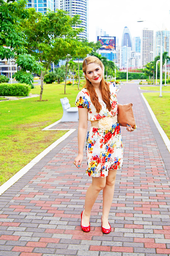 Floral dress by The Joy of Fashion (3)