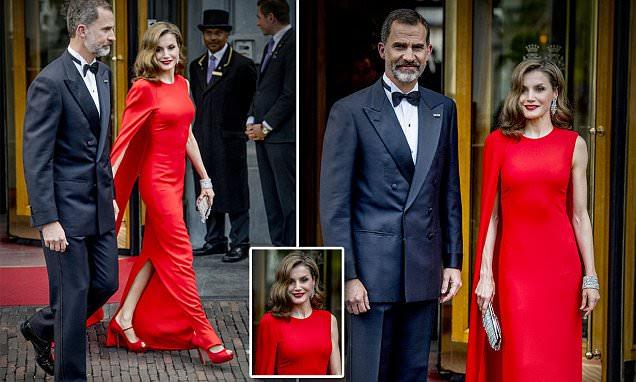 Rainha Letizia assiste ao aniversário do Rei Willem-Alexander