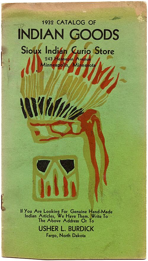 sioux indian goods catalog m.a. keller
