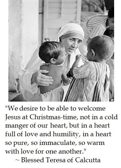 Mother Teresa Christmas