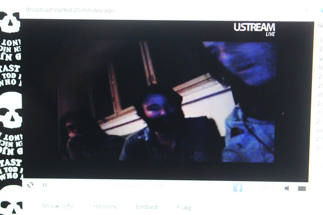 Black Angels and Anton on live from Berlin