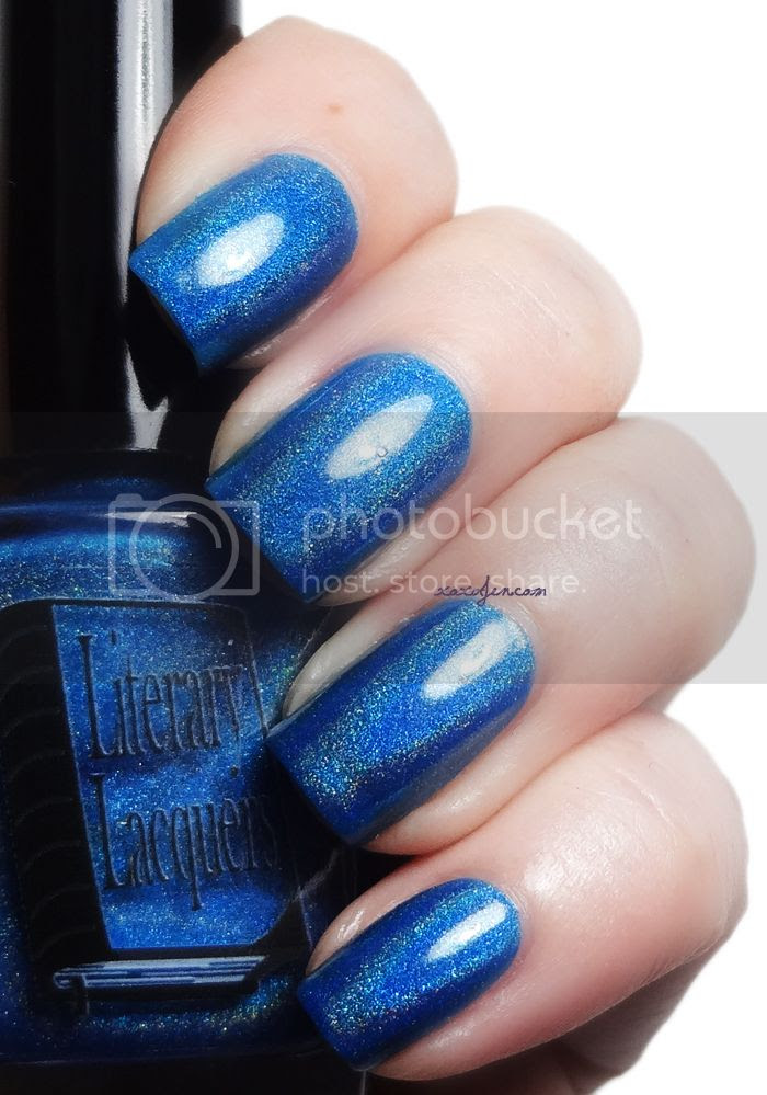 xoxoJen's swatch of Ultimate Outlaw by Literary Lacquers