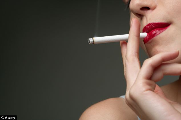The study, which was carried out over the last eight years, asked women questions about their lifestyle, including whether or not they smoked
