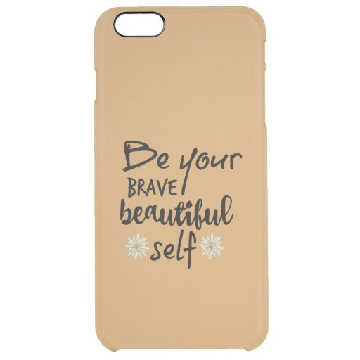 Motivation Inspiration: Be Yourself Quote Clear iPhone 6