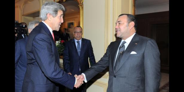 Entretien téléphonique entre le Roi Mohammed VI et John Kerry