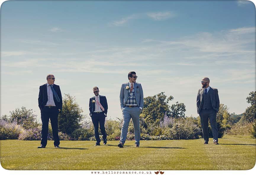 Groom, Best Man and Ushers - www.helloromance.co.uk
