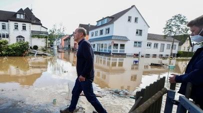 Число погибших в результате наводнения в ФРГ выросло до 58