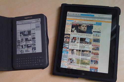 Kindle & iPad