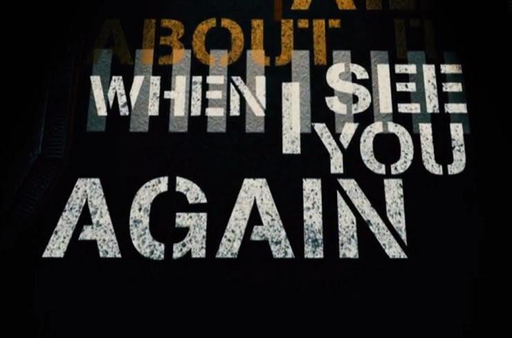 Wiz Khalifa See You Again Ft Charlie Puth Lyric Video
