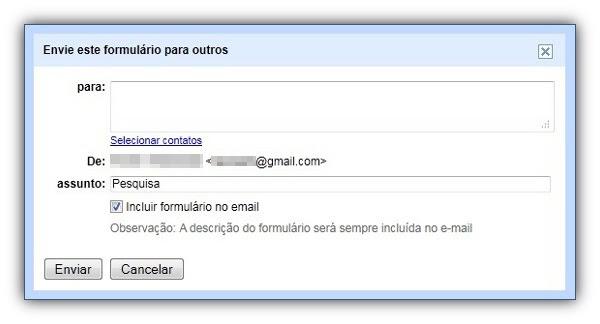 Como criar formulários no Google Docs