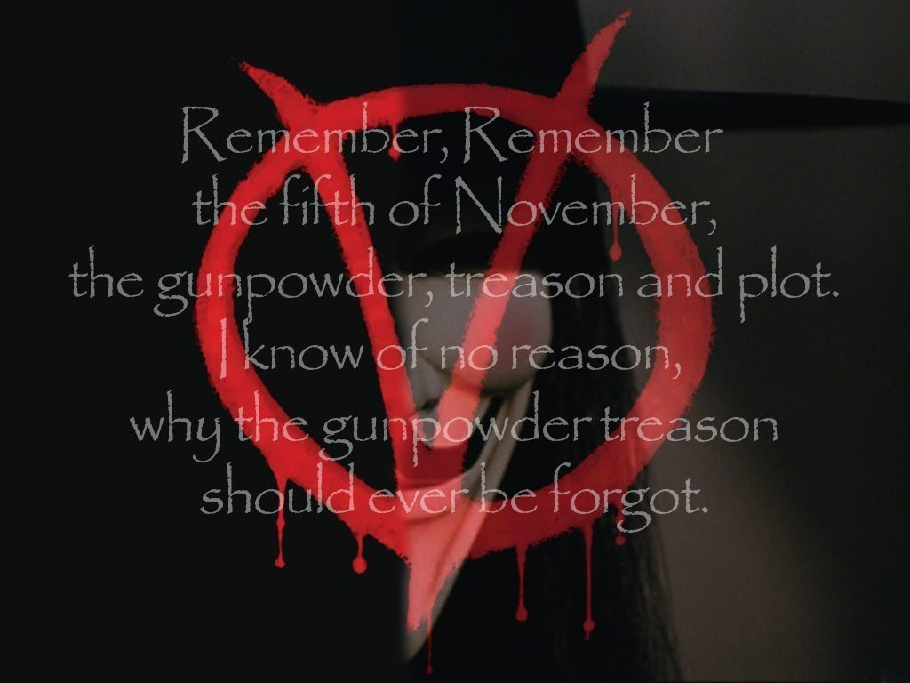 Remember Remember V For Vendetta Wallpaper 5389378 Fanpop