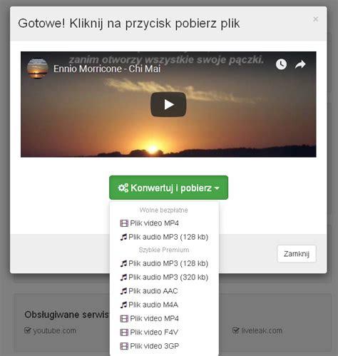 pobieranie  youtube poszukiwanie oprogramowania