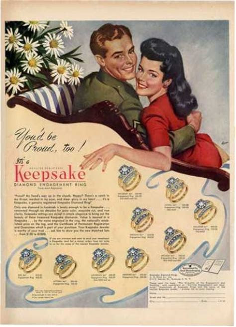 Vintage Jewelry and Watches Ads of the 1940s (Page 3)