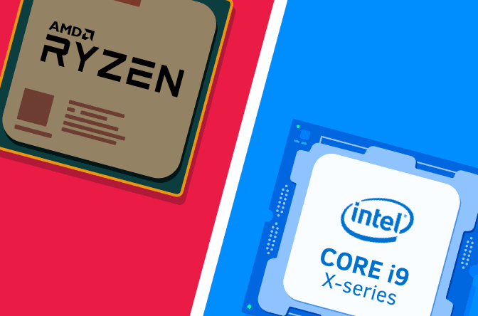 The Processor Wars between Intel and AMD
