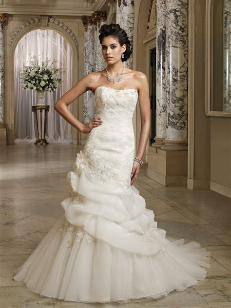 Wedding dresses and bridals gowns by David Tutera for Mon