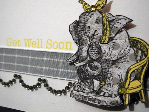 Get Well Elephant (detail)