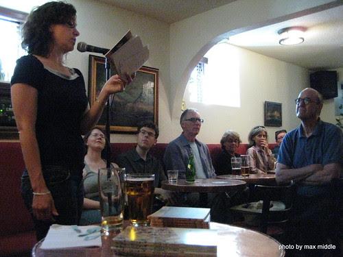 Sandra Ridley & audience