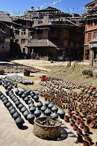 Bhaktapur Potter Square