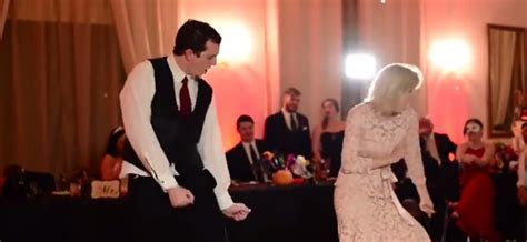 Mother And Son Perform Epic Wedding Dance   DirectExpose.com