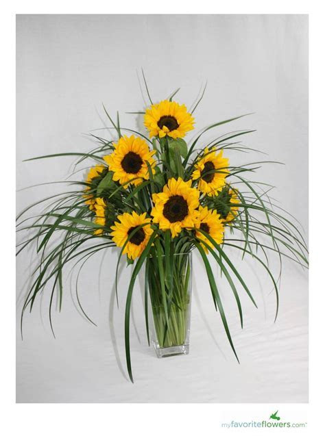 DIY   3 Easy Steps to Create Sunflower Arrangement