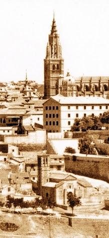 Iglesia de San Sebastián (Toledo) a principios del siglo XX