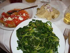 cretan appetisers and salads